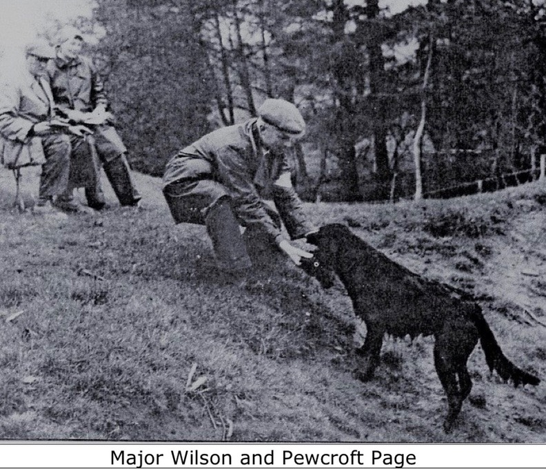 Major Wilson and Pewcroft Page